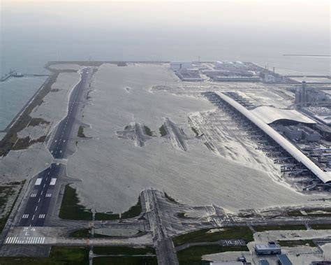 Flooded Kansai airport had crucial infrastructure on