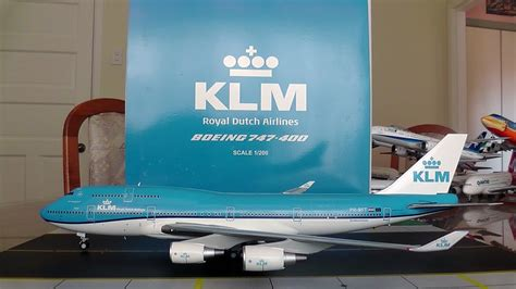JC Wings 1:200 KLM 747-400M 'New Livery' Unboxing and
