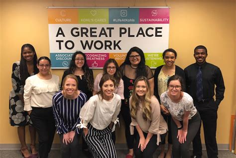 Why Kohl's? The 2018 Summer Interns Share Their Experiences