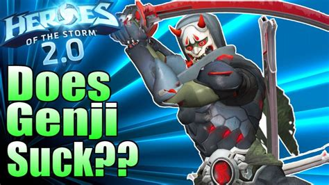 Heroes of the Storm Genji SUCKS!? (2018) At least his win