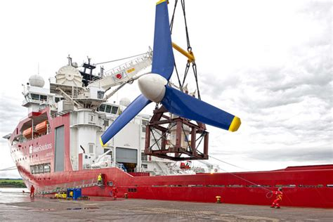 How floating turbines could harness the awesome power of