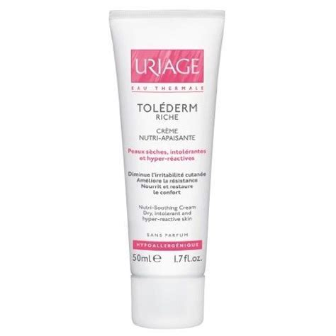 Uriage Tolederm Riche Nutri Soothing Cream for Dry