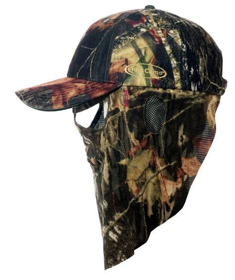 Casquette Browning Face Mask + Filet Camouflage