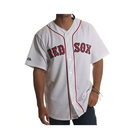 Camisa MLB Majestic: Red Sox WH   Comprar online   Fillow