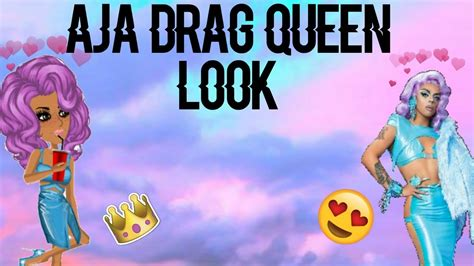 RECREATING AJA PROMO LOOK FOR RPDR ON MSP - YouTube