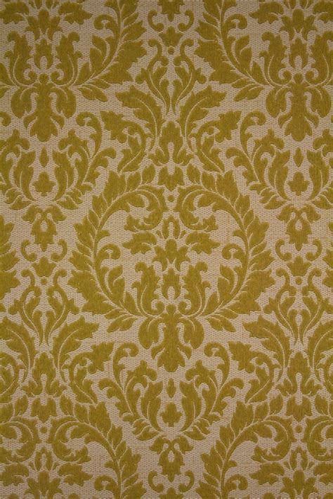 Original vintage baroque wallpaper from the '60s