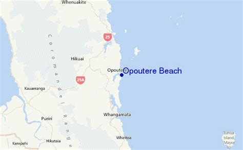 Opoutere Beach Surf Forecast and Surf Reports (Coromandel