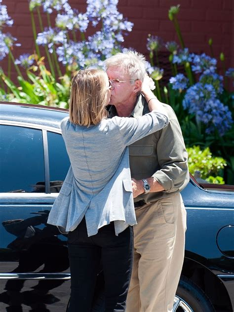Harrison Ford and Calista Flockhart at Their Son's