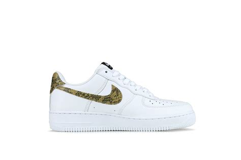 "Nike Air Force 1 Retro Low Premium ""Ivory Snake"" QS– Hanon"