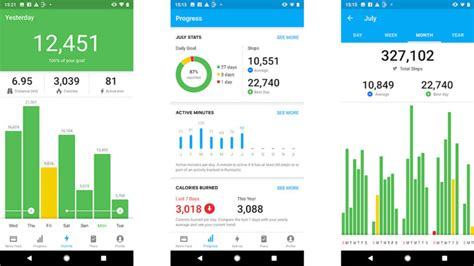 10 best pedometer apps and step counter apps for Android!