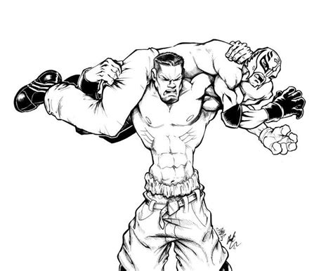 Wwe Triple H Coloring Pages - Coloring Home