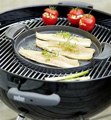 Plancha GBS Weber pour Gourmet BBQ System