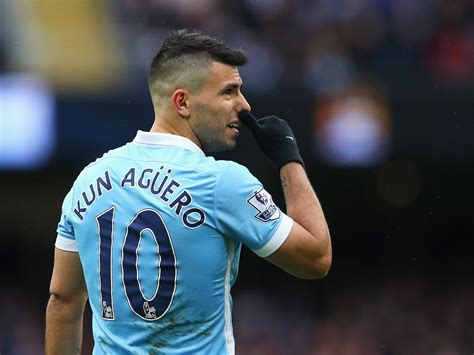 Sergio Aguero happy to stay at Manchester City for rest of