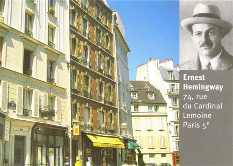 Tally Ho!: Famous Writers And Where They Lived In Paris