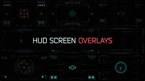 VIDEOHIVE HUD SCREEN OVERLAYS - Download Free After