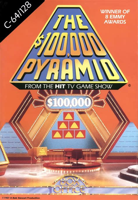 The $100,000 Pyramid for Apple II (1987) - MobyGames
