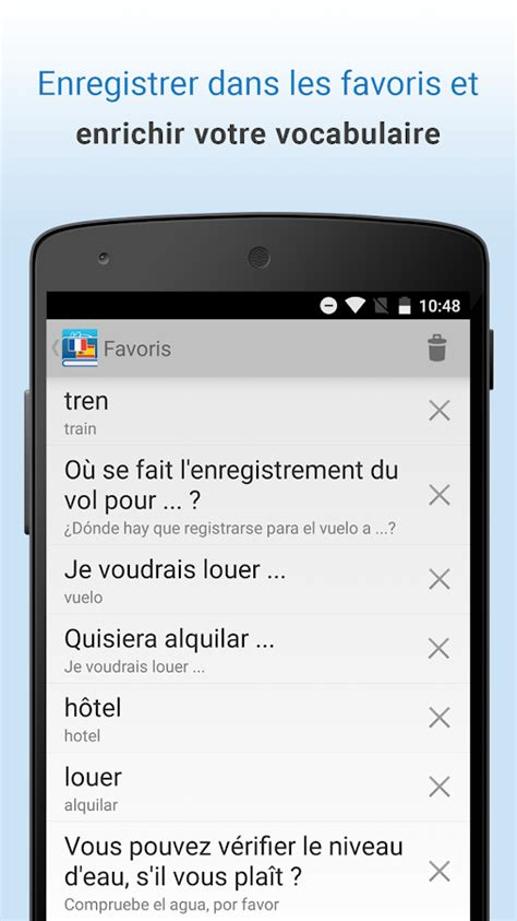 Français-Espagnol Traduction - Android Apps on Google Play
