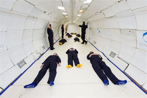 What it's like to spend 6 minutes in zero gravity - SFGate