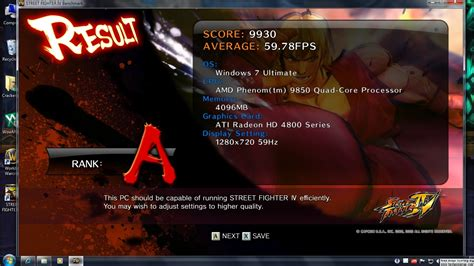 Street Fighter IV Benchmark | Page 4 | TechPowerUp Forums