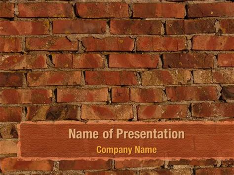 Brick Wall PowerPoint Templates - Brick Wall PowerPoint