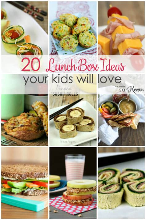 20 Easy Lunch Box Recipes Your Kids Will Love