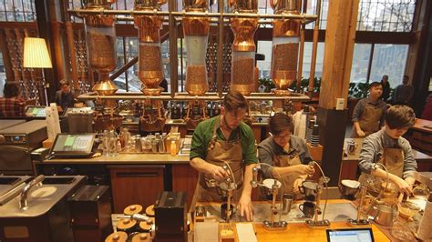 Visit to Starbucks Reserve® Roastery in Seattle a dream