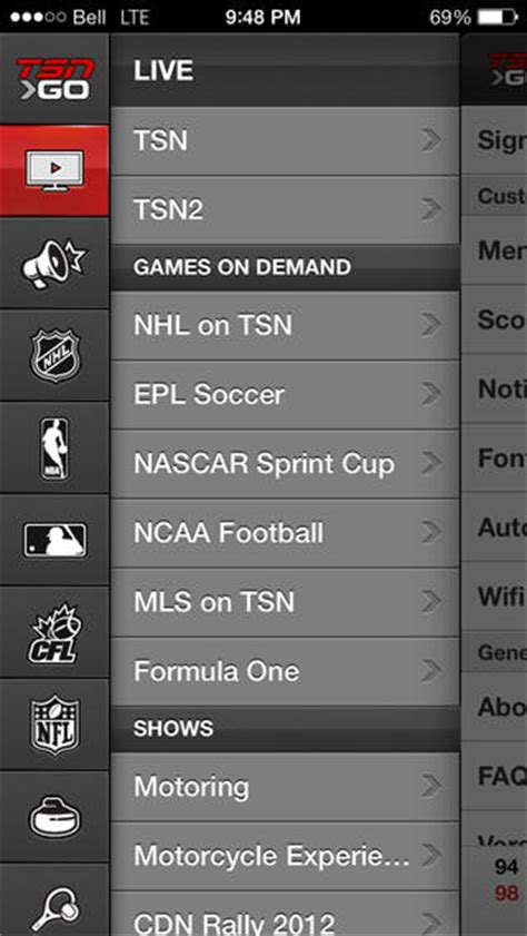 TSN GO for iOS Brings Live Streaming Sports to iPhone