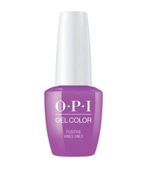 Positive Vibes Only  OPI   GELCOLOR