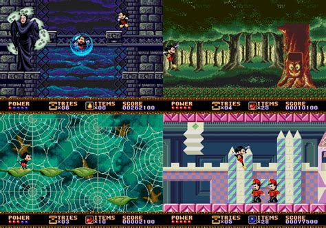 Mickey Mouse Castle of Illusion from Sega - Mega Drive