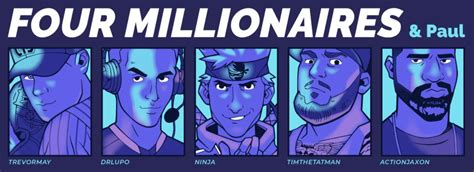 Four Millionaires and Paul: Fortnite streamers hold