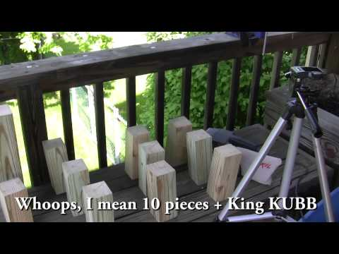 Kubb game pieces | Kubb game, Wood games, Outdoor yard games