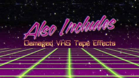 80s Title Intros - After Effects Template - YouTube