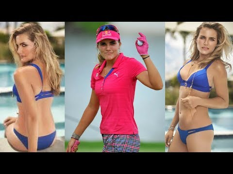 GOLF SWING 2012 - LEXI THOMPSON DRIVER - DOWN THE LINE
