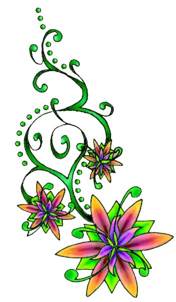 Flower Tattoo Free Download PNG | PNG All