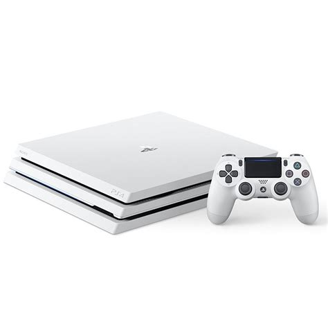 Sony PlayStation 4 Pro (1 To) Blanc - Console PS4 Sony