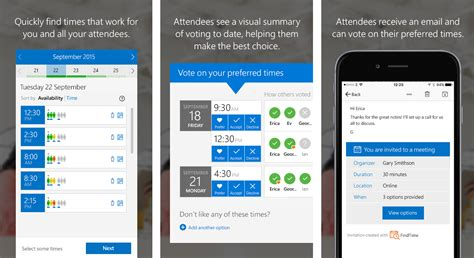 Schedule meetings faster with FindTime—a Microsoft Garage