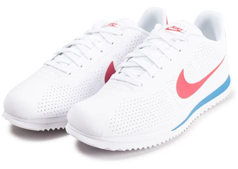 Nike Cortez Ultra Moire blanche - Chaussures Baskets homme