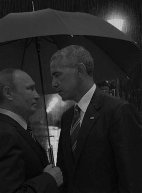 The Obama / Putin Stare Gets The Internet Treatment And It