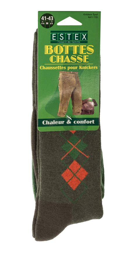 Chaussettes De Chasse Knickers Tyrol + Laine