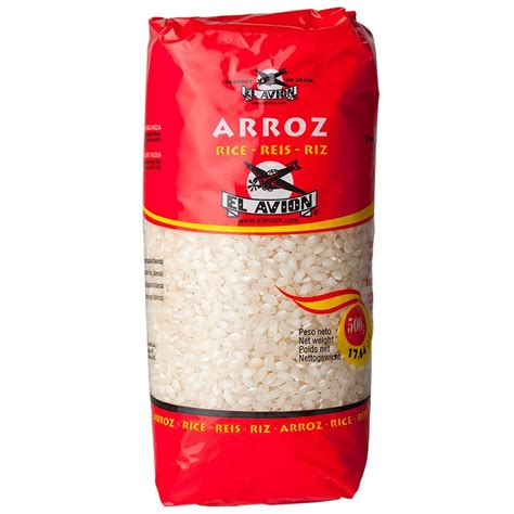 Grossiste France - RIZ à paella rond à paella - Packet de 500g
