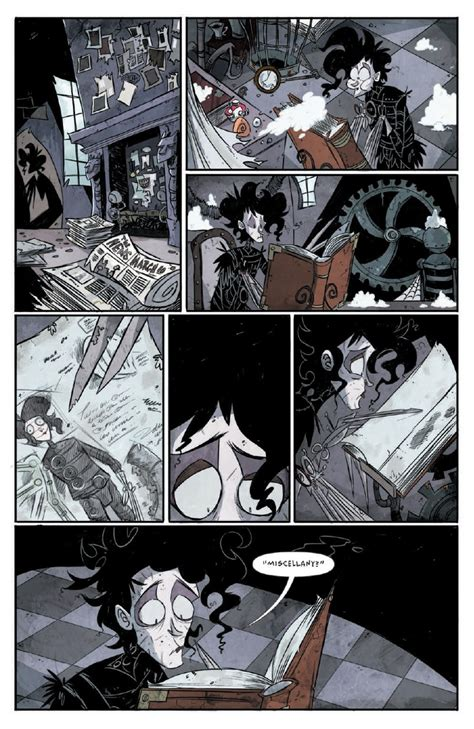 Preview/Review - Edward Scissorhands #1 - IDW ~ What'cha