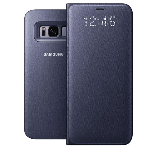 Samsung LED View Cover Violet Samsung Galaxy S8 - Etui
