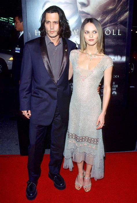 Johnny Depp's Affair — Cheated On Vanessa Paradis With