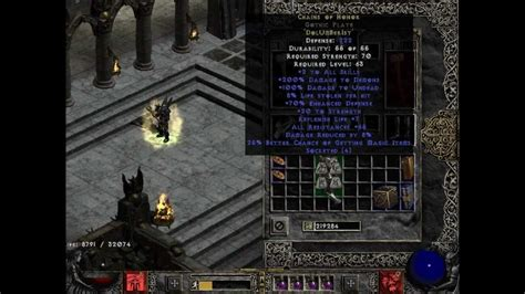 Daiblo 2 how to transform a normal item into a runeword