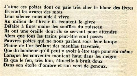 poeme obseques
