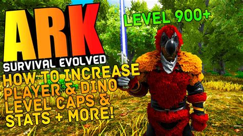 ARK Survival Evolved - HOW TO INCREASE DINO & PLAYER LEVEL