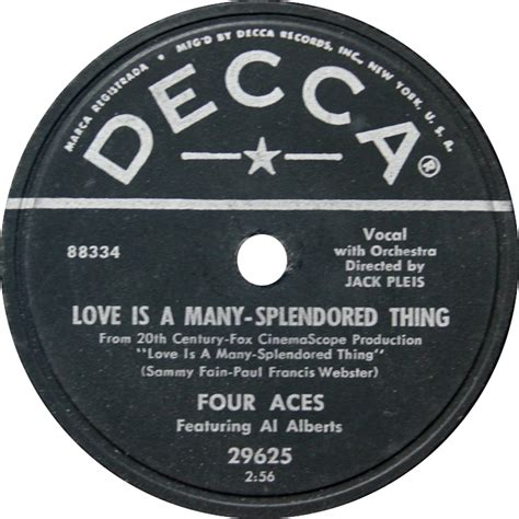 Love Is a Many-Splendored Thing (song) - Wikipedia