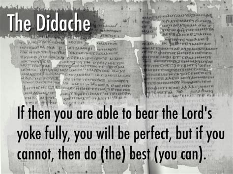 The Didache: The Teachings of the Twelve Apostles – dgaskins08