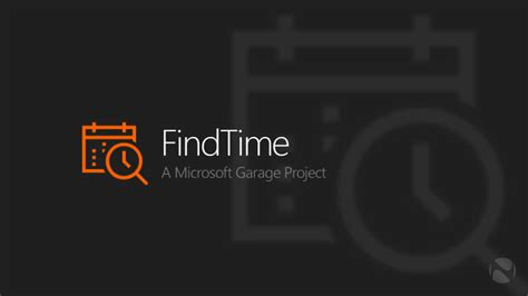 Microsoft wants to make it easier to FindTime for meetings
