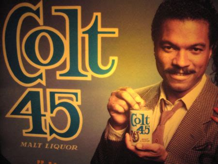 Billy Dee Williams Colt 45 Lighted Sign - The Allee Willis